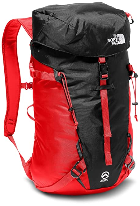 North Face Verto 18, Mochila Unisex Adultos, Rojo (Fiery Red/TNF Black