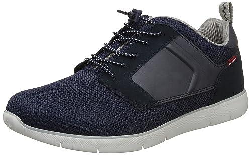 ac00b627ea310f Levi s Men s Black Tab Runner Dark Blue Sneakers-10 UK India (44 EU ...