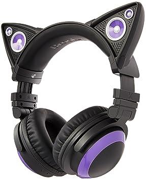 Casque Audio Oreilles De Chat Cat Ear Headphones Axent Wear