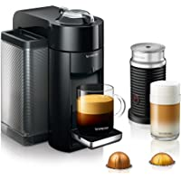 Nespresso by De'Longhi Coffee and Espresso Machine Bundle with Aeroccino Milk Frother