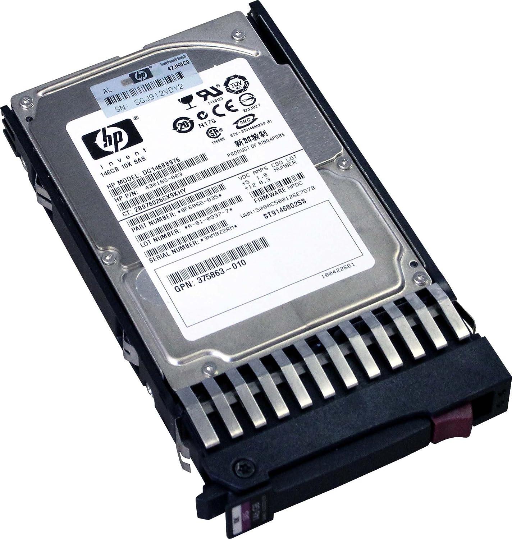 146GB SAS HP 10K Dual Port Drive w/ Tray 2.5 DG146BB976