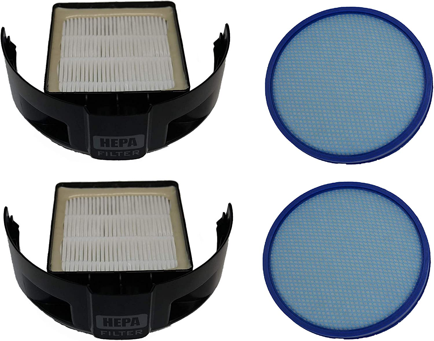Replacement Hoover Windtunnel Two Sets of Filters Replaces OEM# 303172001 & 304087001
