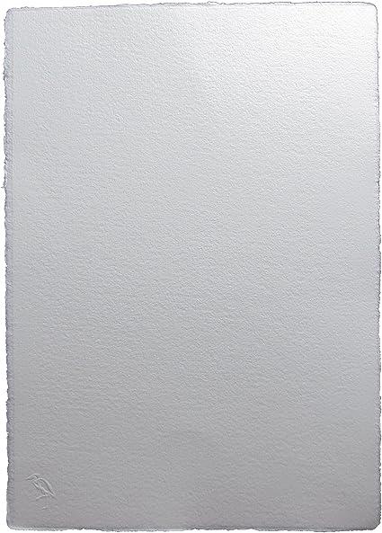 Garza papel papelería 180 g/m², 200 x 140 mm algodón reciclado papel de acuarela – Parent, color blanco 350 x 500mm: Amazon.es: Oficina y papelería