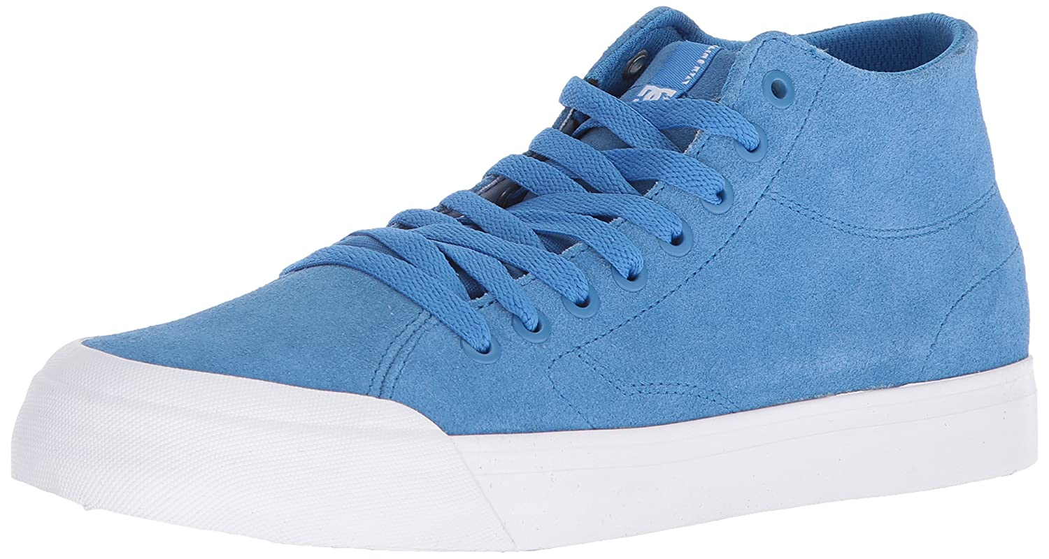 DC Men's Evan Smith HI Zero Skate Shoe 6 D D US|Blue