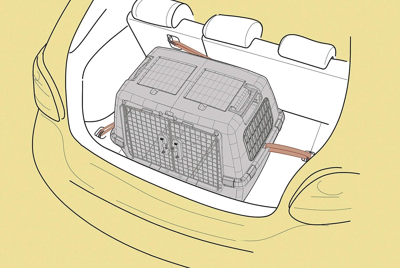 Grey Kerbl Gulliver Touring IATA Transport Box 80 x 58 x 62 cm