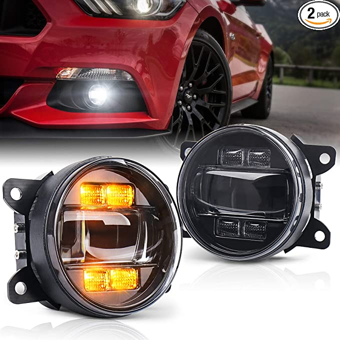 LED fog lights /& DRL pair left /& right O//S /& N//S Fits Ford Focus Mk2 ST 11//200