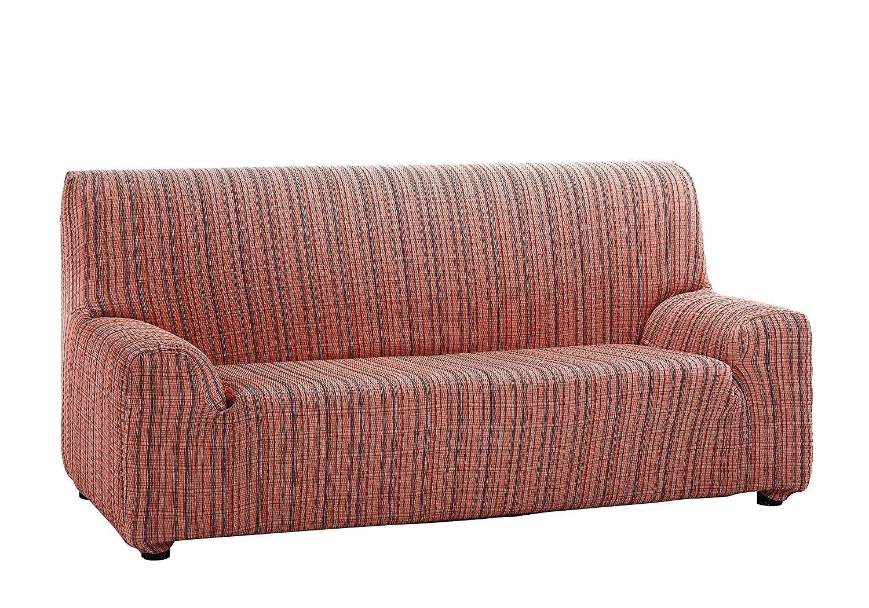 Martina Home Mejico - Funda de sofá elástica, Burdeos, 2 Plazas, 120 a 190 cm de ancho