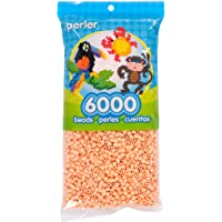 Sand Pink Perler Beads for Arts and Crafts, 6000pc