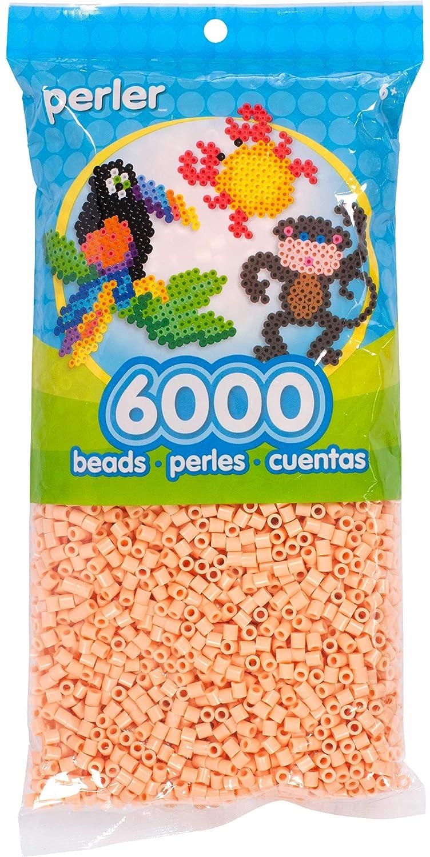 Canutillos Beads 6000 Unidades Color Rosa Arena (xam)