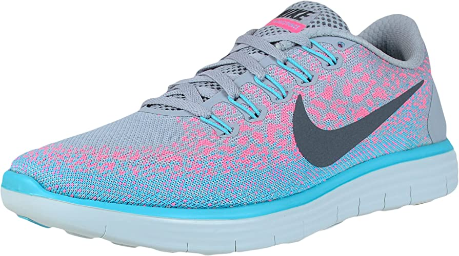 5 Womens US GreyDark Blast Distance Wolf GreyPink Rn Nike Running Shoe Free trhdCsQ