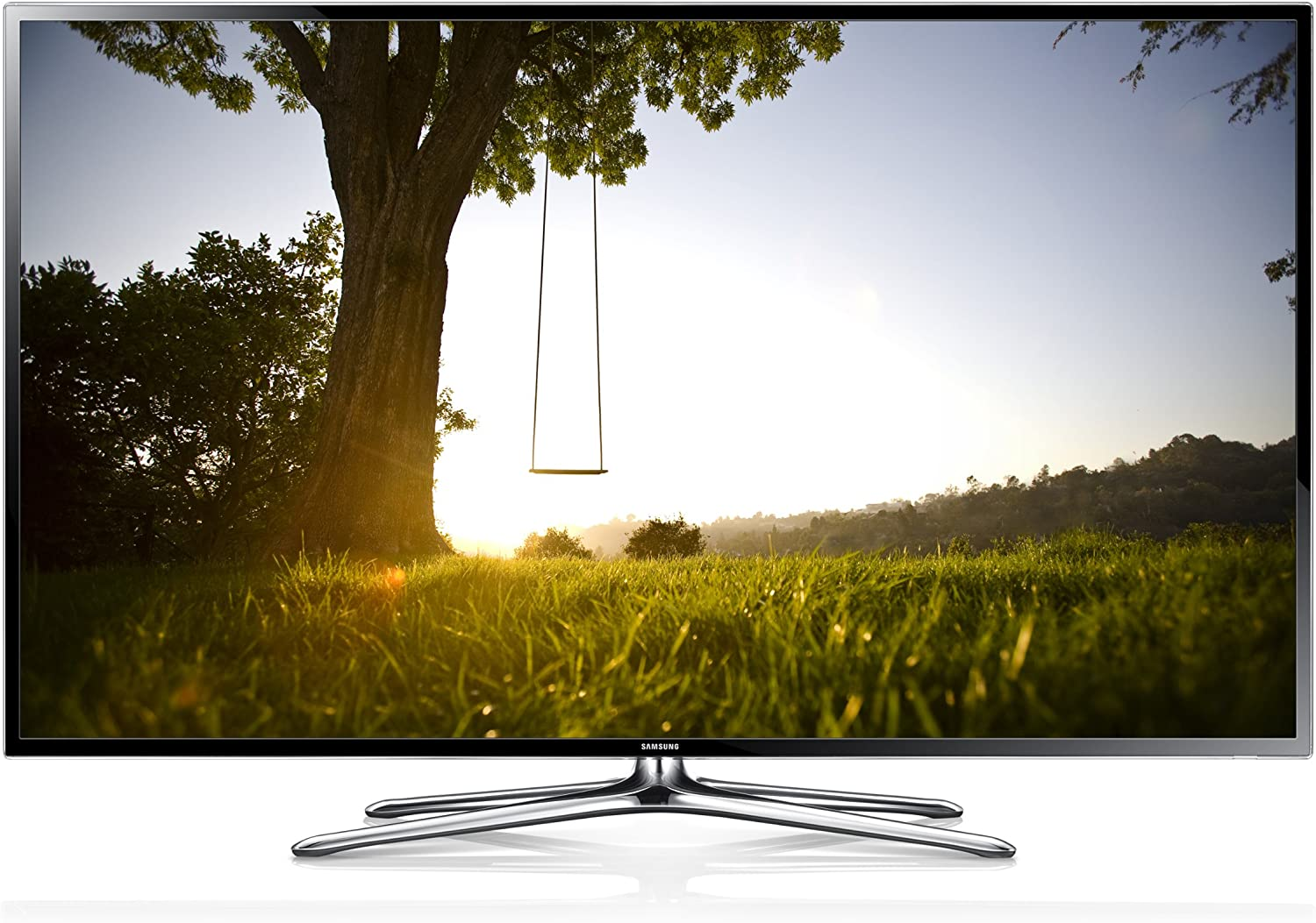 Samsung UE46F6200 - Televisor LED, 46 pulgadas, SmartTV (Full HD 1080p, Clear Motion Rate 100 Hz), negro: Amazon.es: Electrónica