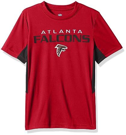 Outerstuff NFL Boys 4-7 quot Mainframe Short Sleeve Performance Tee -Crimson-S 570971981