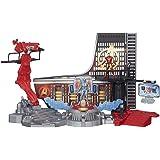 Marvel – Avengers: Age of Ultron – Iron Man – L'Attaque du Laboratoire – Décor + 2 Figurines