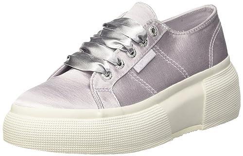 dc16a6d544 Superga 2287-satinw, Zapatillas para Mujer: Amazon.es: Zapatos y  complementos