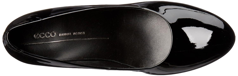 ECCO Women's Shape 75 Sleek Dress Pump B01A9IQON4 40 EU/9-9.5 M US|Black Patent