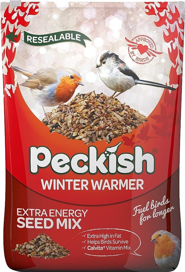 Free Seed Feeder Westland Peckish Winter Warmer 1.7kg