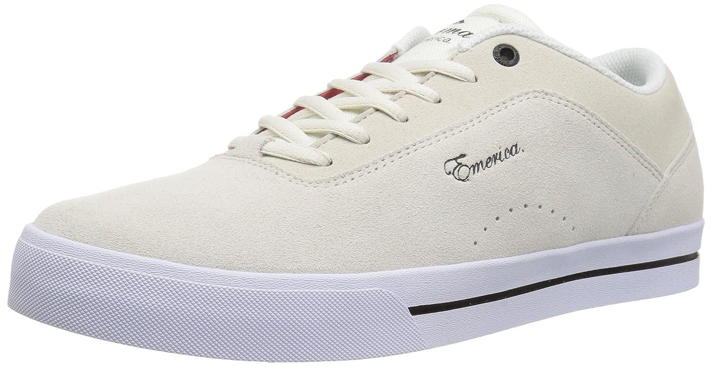 Emerica Men's G-Code Re-up Skate Shoe 9 D(M) US|White/White