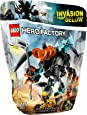 LEGO Hero Factory - 44021 - Jeu De Construction - Splitter Beast Vs Furno Et Evo