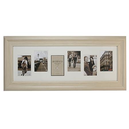 IMP Cream Multi Aperture Frame (6pics): Amazon.co.uk: Kitchen & Home