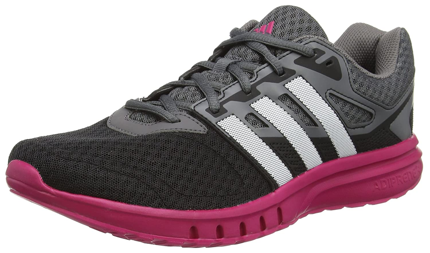 Amazon.com | adidas - Galaxy 2 W - AF5570 - Color: Black-Grey-Pink - Size: 7.0 | Fashion Sneakers