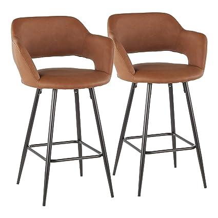 Superb Amazon Com Ahoy Mid Century Counter Stool In Walnut And Inzonedesignstudio Interior Chair Design Inzonedesignstudiocom