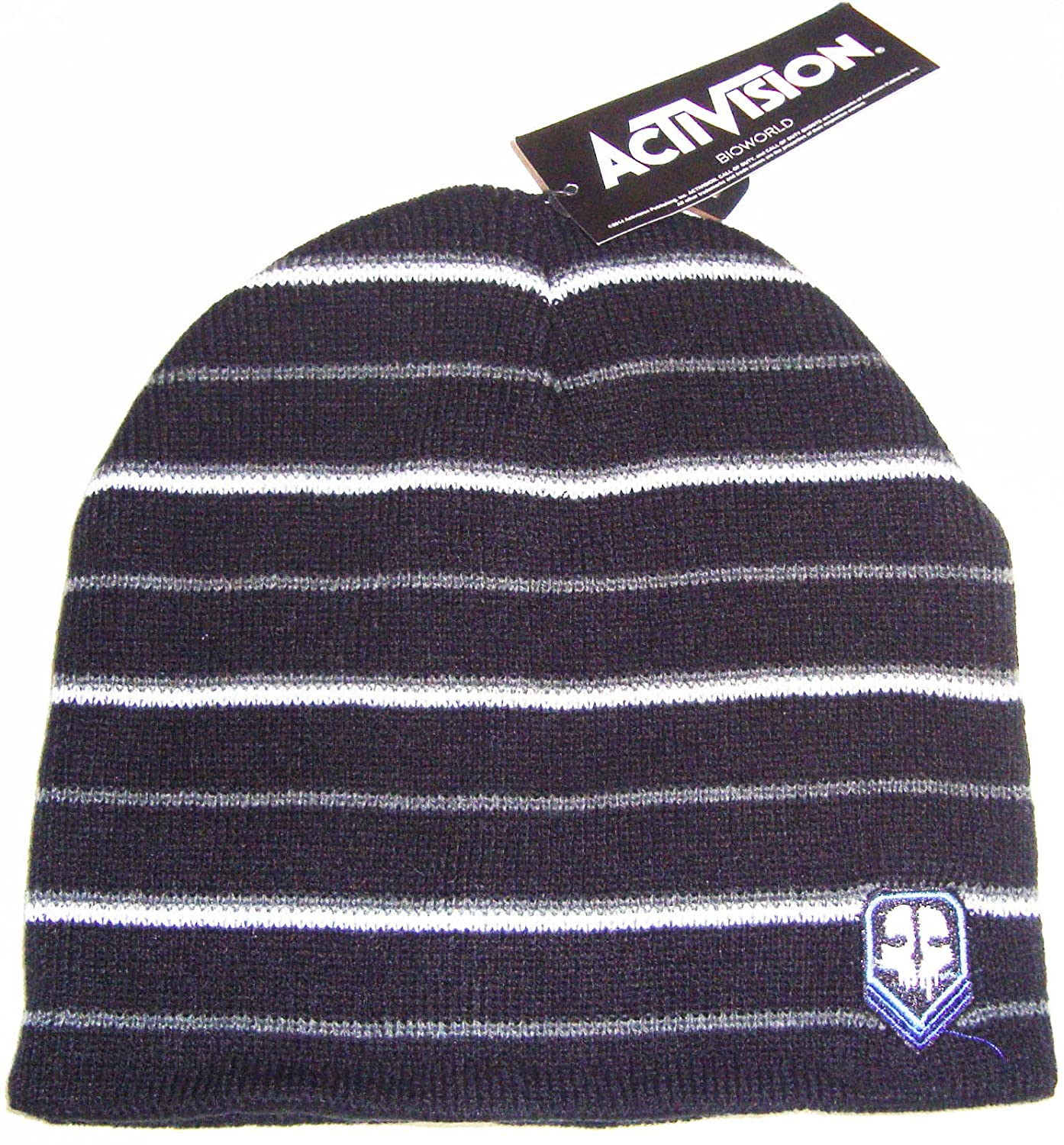 BioWorld Call of Duty Ghosts Stripe Winter Knit Toque Beanie One Size