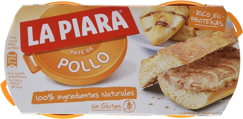 La Piara Sólo Natural Paté de Pechuga de Pollo - 75 gr ...