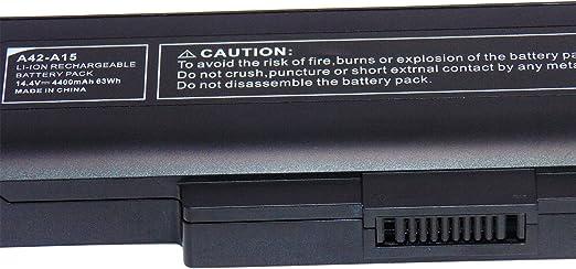 Batterie 4.400 mah pour Medion Akoya md96380