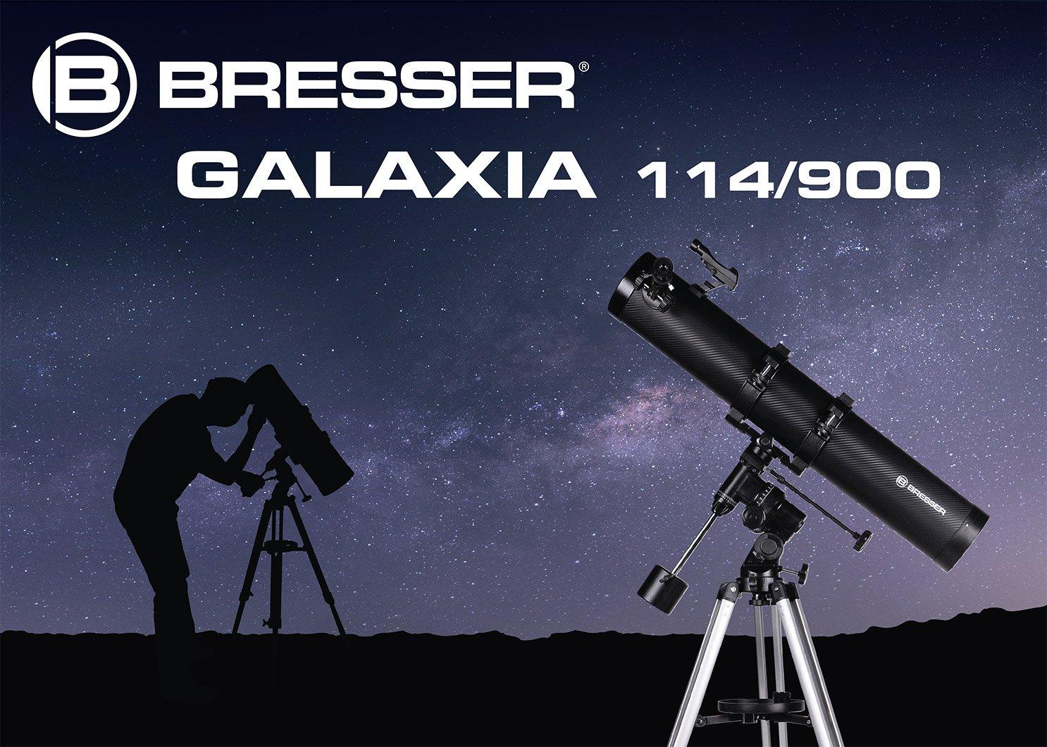 Bresser spiegelteleskop galaxia eq sky 114: amazon.de: kamera