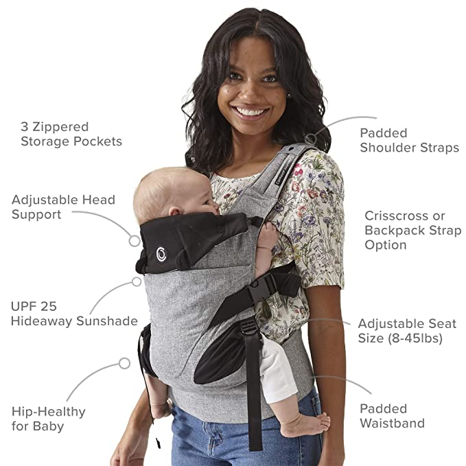 Contours Journey 5-in-1 Best Child & Baby Carrier