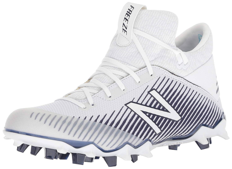 bee7d327f Amazon.com | New Balance FreezeLX 2.0 Cleat - Men's Lacrosse White | Field  Hockey & Lacrosse
