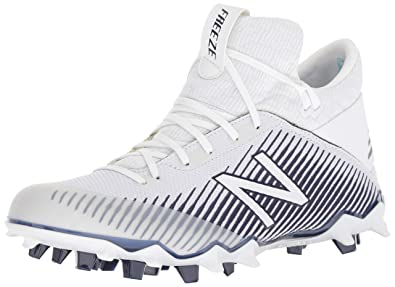 1957dc6f0810 New Balance Men's Freeze V2 Agility Lacrosse Shoe, White/Blue, 6.5 2E US