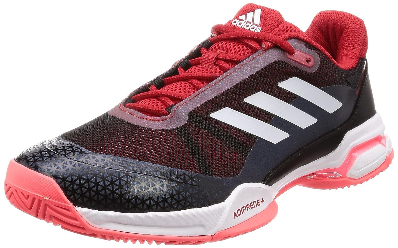 Rouge (rouge 000) adidas Barricade Club, Chaussures de Tennis Homme 46 2 3 EU