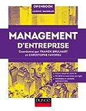 Management d'entreprise: Cours visuel et concret, 90 QCM et exercices corrigés, Méthodes et conseils opérationnels