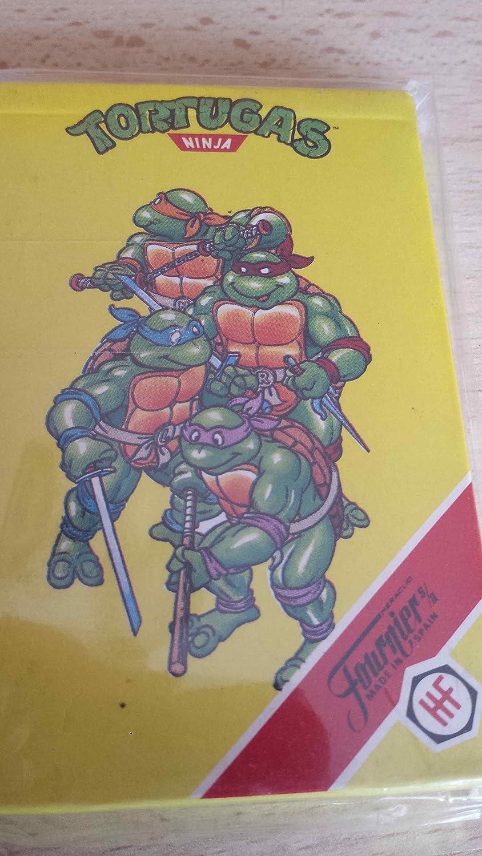 Cartas Tortugas Ninja (año 1991): Amazon.es: Juguetes y juegos