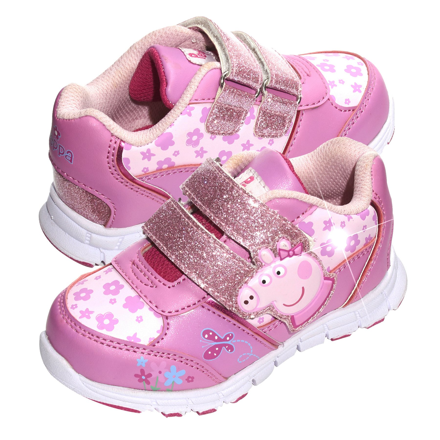Peppa Pig Toddler Girl's Light up Sneakers 12 - Pink
