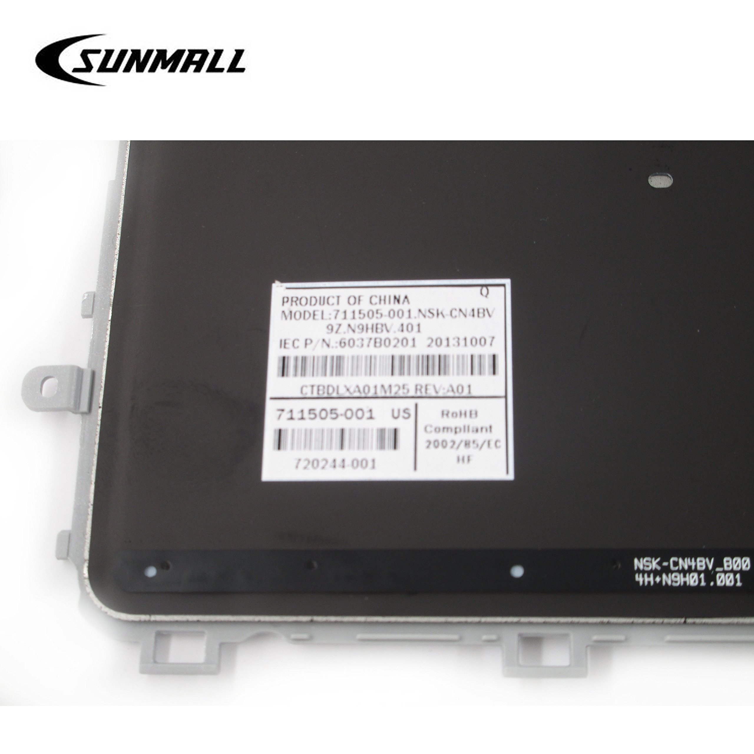 EJTONG New for HP Envy Touchsmart M6-N M6-N000 M6-N100 M6-N010DX M6-N015DX M6-N012DX M6-N113DX M6-N168CA M7-J010DX M7-J078CA M7-J120DX M7-J178CA Laptop Silver US Keyboard with Backlit