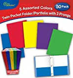 New Generation Twin Pocket Portfolio/Folder Heavyweight Paper