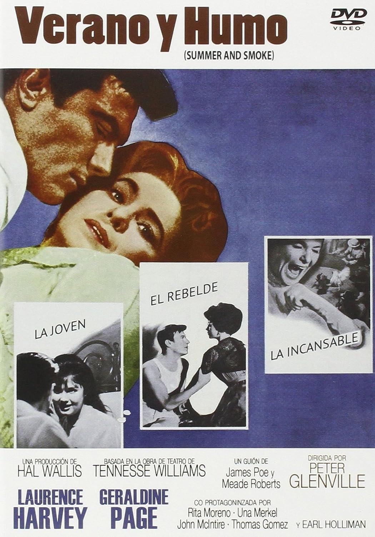 Verano Y Humo [DVD]: Amazon.es: Laurence Harvey, Geraldine ...