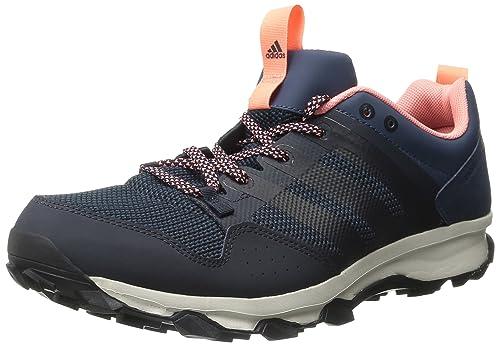d4e322723d2 adidas Performance Women s Kanadia 7 TR W Trail Running Shoe Mineral  Blue Night Navy Sun Glow Yellow 11.5 B(M) US  Amazon.in  Shoes   Handbags