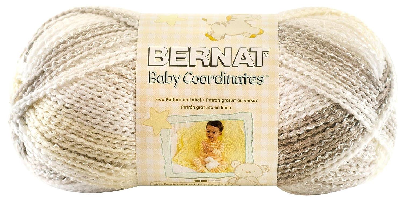 Amazon.com: Bernat Baby Coordinates Ombre Yarn - (3) Light Gauge ...