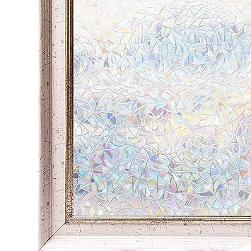 Cottoncolors Film Adhésif Décoratif Pour Fenêtre Vitrage 3d Statique