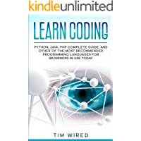 Learn Coding: Python, Java, PHP Complete Guide, and