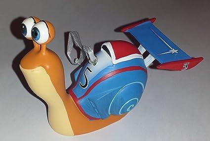Caracol de la película equipo de carreras Hero Ornament