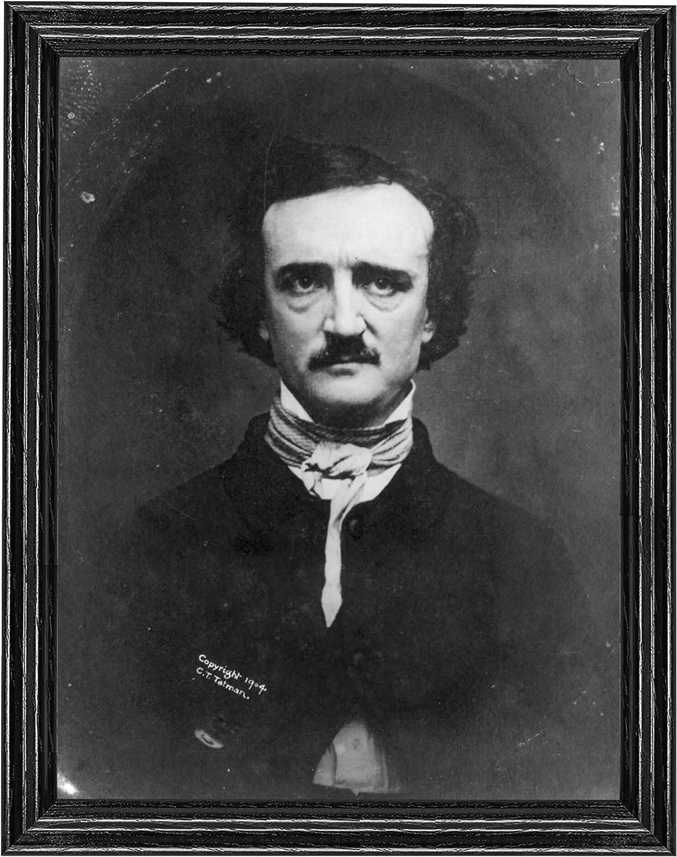 Edgar Allan Poe Photograph Vintage Photo from 1904
