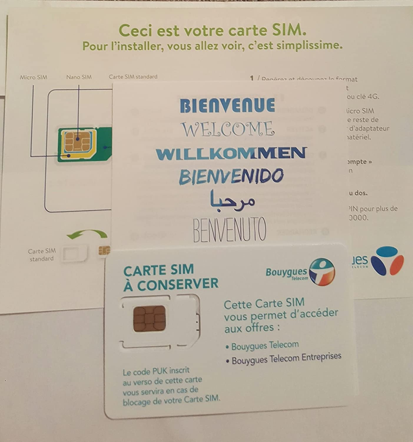 carte nano sim bouygues Free pa83 ® Bouygues TelePrepaid SIM Card pa83 ®: Amazon.co.uk