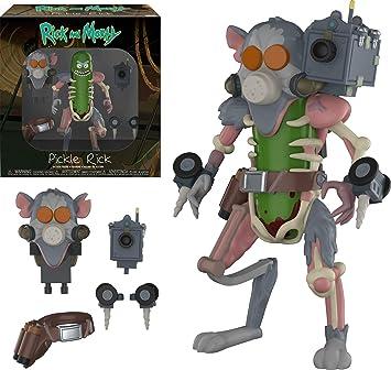 Funko- Action Figure: Rick & Morty: Pickle Rick Coleccionable, Multicolor (29783)