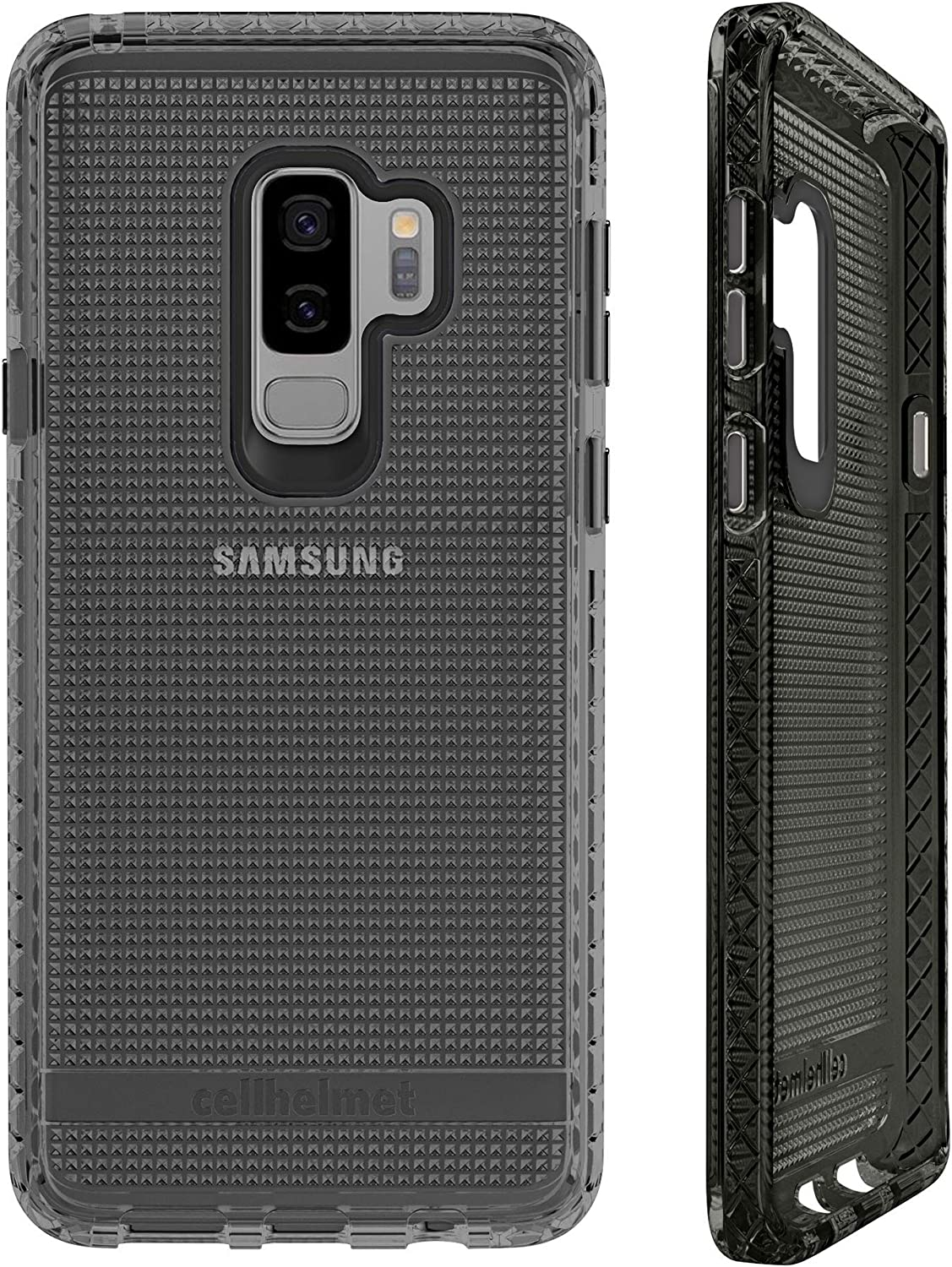 cellhelmet Altitude X Series Black Phone Case for Samsung Galaxy S9 Plus | As Seen on Shark Tank | in Retail Package