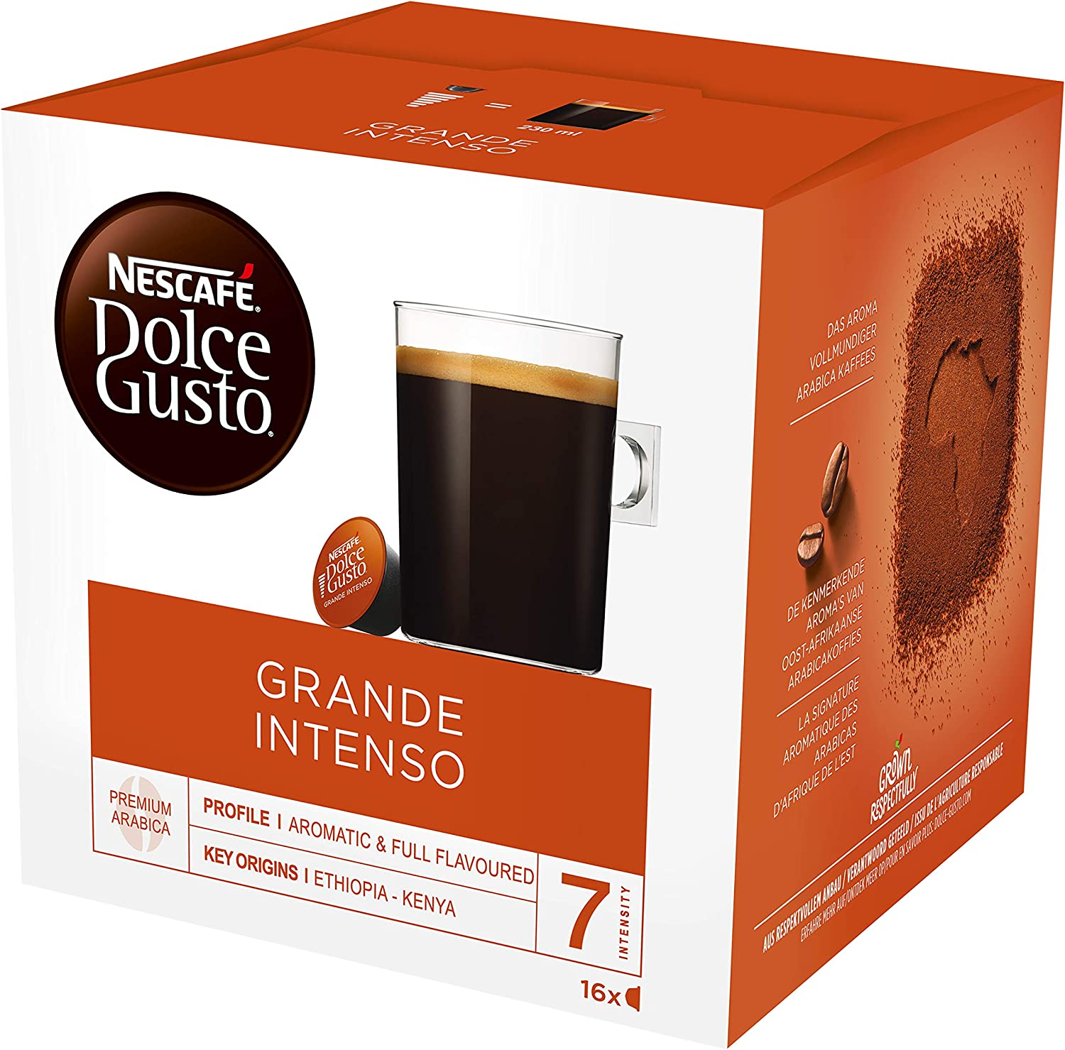 Amazon.com: Nescafe Dolce Gusto Café Grande Intenso: Home ...