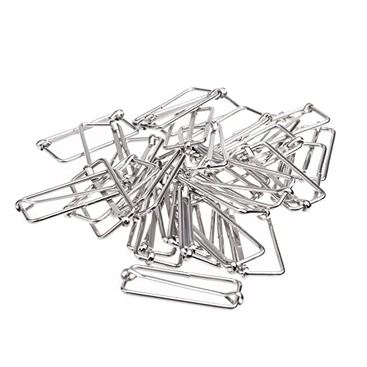 Amazon Com Bluecell 30pcs Metal Slide Buckle Triglide Slide Webbing